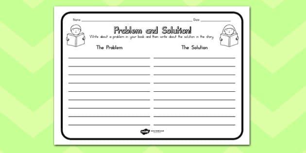 Problem Solution Comprehension Worksheet - australia, problem