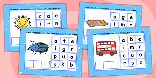 CVC Words U Spelling Flipchart - CVC words, spellings, flipchart
