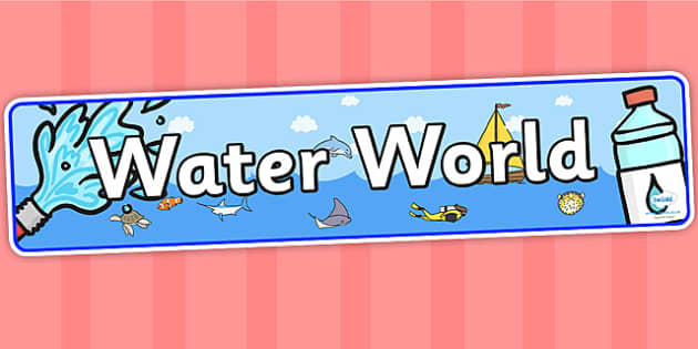 Water World IPC Display Banner - water world, IPC, water world IPC, IPC display banner, waterworld display banner, waterworld display, IPC display
