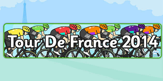 Tour de France 2014 Display Banner - le tour, geography, header