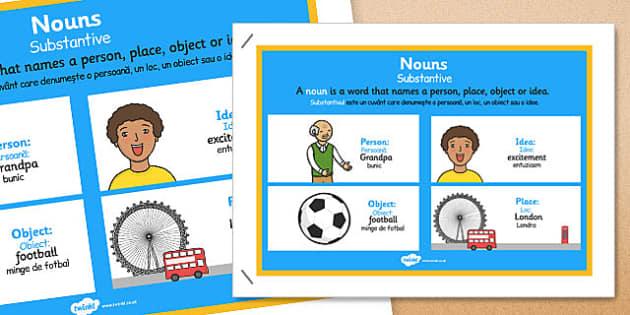 Noun Display Poster Romanian Translation - romanian, noun, display poster, display, poster