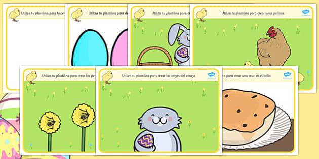Tapiz de plastilina - Pascua - semana santa, imagen, conejito, huevos,