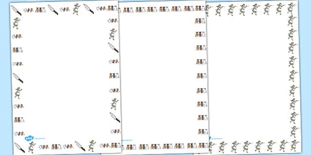 Three Blind Mice Page Borders - Three Blind Mice, nursery rhyme, Literacy, writing, page border, a4 border, template, writing aid, writing border, page template, rhyme, rhyming, nursery rhyme story, nursery rhymes, Three Blind Mice resources,