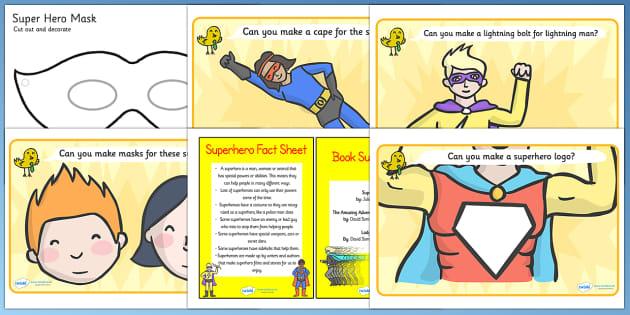 EYFS Superheroes Discovery Sack - superheroes, EYFS, discovery