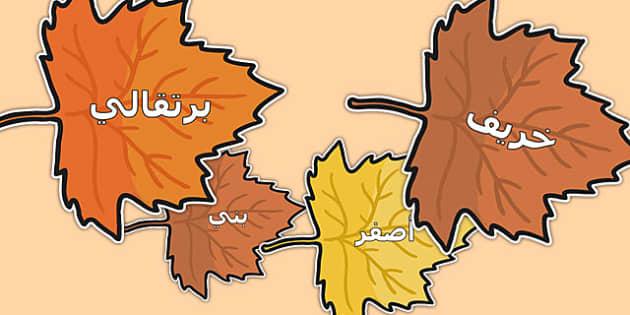 كلمات خريف على ورق شجر - فصل الخريف، الخريف، ورق الشجر، موارد