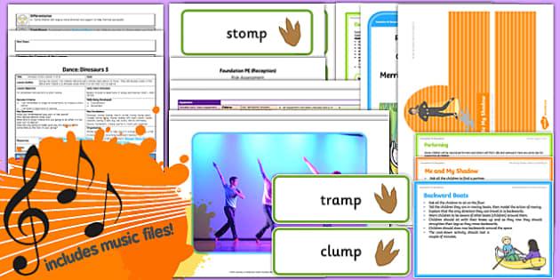 Foundation PE (Reception) - Dance - Dinosaurs Lesson Pack 5: Dinosaur Divas - EYFS, PE, Physical Development, Planning
