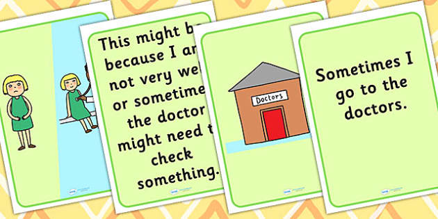 Going To The Doctors Social Situation - social stories, stories, SEN, SEN stories