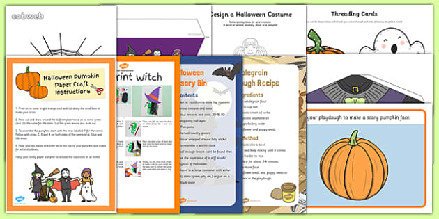 Top 10 Childminder Halloween Activity Pack