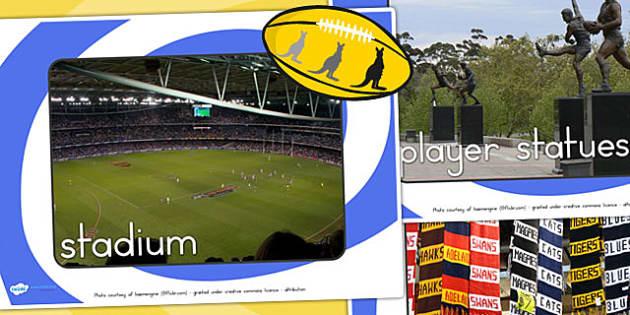 Australian Football League Display Photos - AFL, football, sport