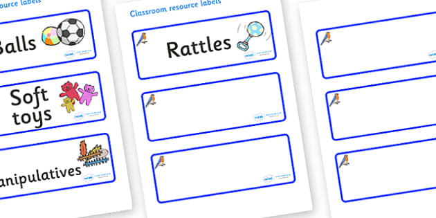 Bluebird Themed Editable Additional Resource Labels - Themed Label template, Resource Label, Name Labels, Editable Labels, Drawer Labels, KS1 Labels, Foundation Labels, Foundation Stage Labels, Teaching Labels, Resource Labels, Tray Labels, Printable
