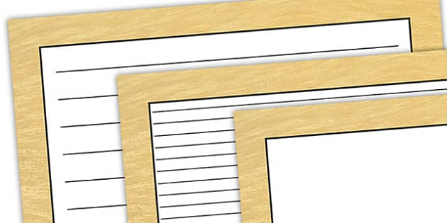 Lion Pattern Landscape Page Border - safari, safari page borders, lion page borders, lion pattern page borders, safari animal pattern page borders