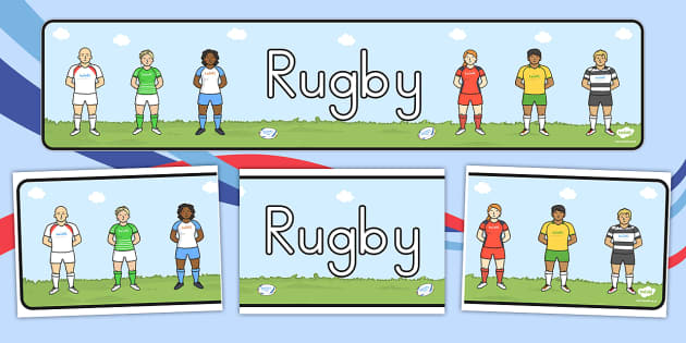 Rugby Display Banner - australia, rugby, display banner, display, banner