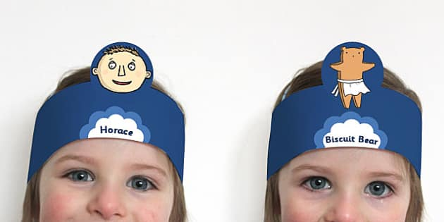 Role Play Headband to Support Teaching on Biscuit Bear - Biscuit, Bear, Role, Play, Head