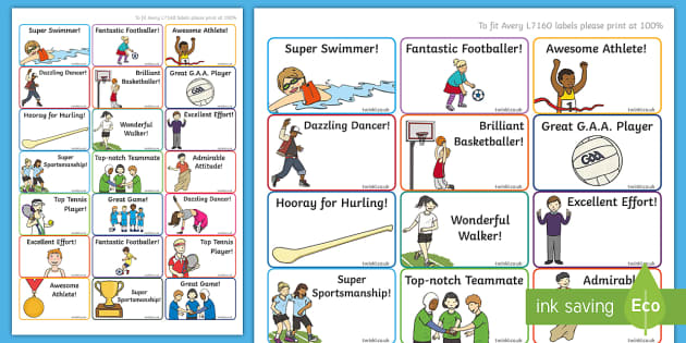 Active Week Stickers - PE, Active Week, rewards, sport, stickers, active, sports,