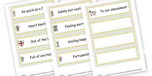 Spectacular Sentence Starters Cards - KS2 Writing Aids, Writing, English, Literacy, Writing, KS2 English
