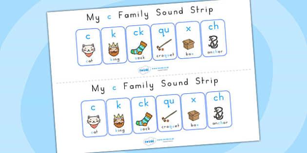 My C Family Sound Strip - sound, sound production, sound strip