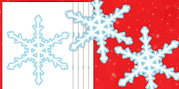 Editable Display Snowflakes - Winter, Christmas, editable, winter words, snowflake, snow, winter, frost, cold, ice, hat, gloves, display words