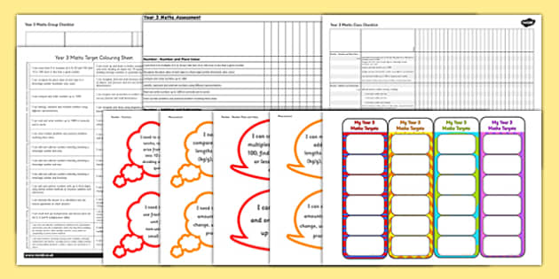2014 Curriculum Year 3 Maths Assessment Resource Pack - numeracy