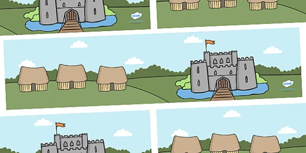 Anglo Saxons Small World Background - Anglo Saxon, Saxons, Anglo-saxon, history,  backdrop, background, scenery, small world area, small world display, small world resources, Northumbria, Kent, bronze helmet, East Anglia, Bayeux Tapestry, St. Bede, O
