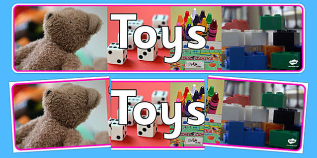 Toys Photo Display Banner - toys, photo display banner, photo banner, display banner, banner,  banner for display, display photo, display, pictures, images