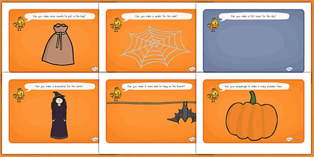 Halloween Playdough Mats - halloween, halloween playdough, halloween mats, halloween activities, celebrations, autumn, games, activities, festivals, fun
