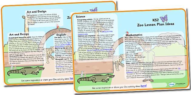 Zoo Lesson Plan Ideas KS2 - zoo, lesson plan, lesson plan ideas, lesson ideas, lesson planning, teaching plan, KS2, key stage 2, KS2 lesson ideas, KS2 idea