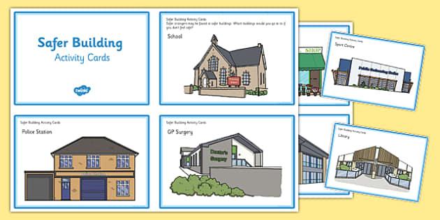 Safer Building Activity Cards - safer building, activity cards, safe, building, activity, cards