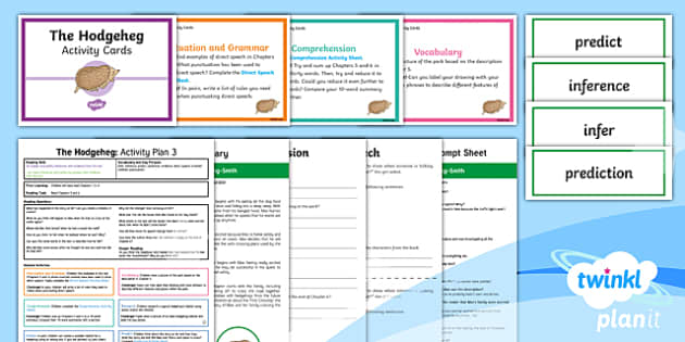 Y3 The Hodgeheg: Activity Plan 3 PlanIt Guided Reading Pack to Support Teaching on The Hodgeheg - The Hodgeheg, dick, king, smith, animals, road safety, carousel, whole class reading, fiction, y3, g