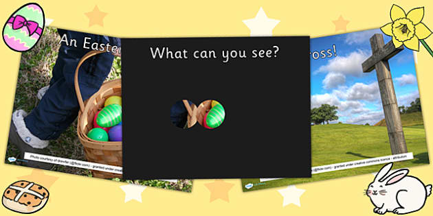 Easter What Can You See PowerPoint - easter, powerpoint, game