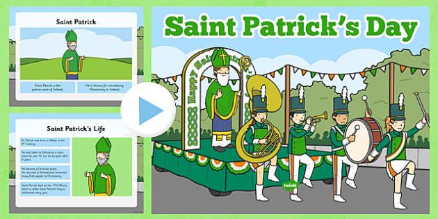 St Patricks Day Informative PowerPoint - patrick, st patricks day