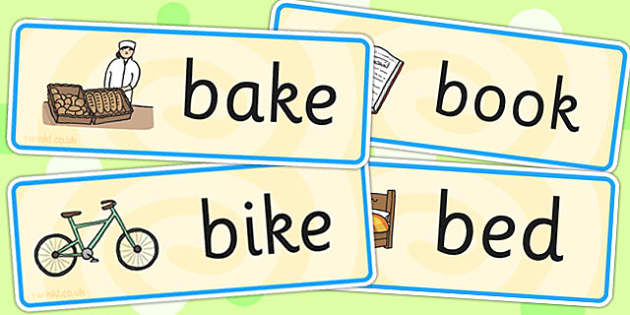Initial b Sound Word Cards - initial b, word cards, sounds, cards
