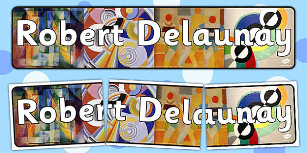 Robert Delaunay Display Banner - display, banner, robert delaunay