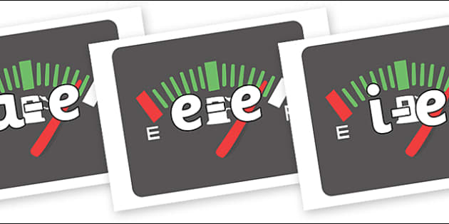 Modifying E Letters on Dials - Modifying E, letters, modify, Phase 5, Phase five, alternative spellings for phonemes, DfES letters and Sounds