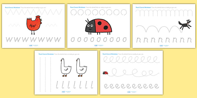 Pencil Control Sheets to Support Teaching on What the Ladybird Heard -what the ladybird heard, pencil control, themed pencil control, what the ladybird heard pencil control