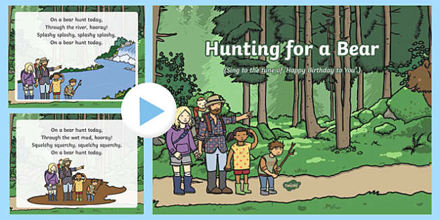 Hunting for a Bear Song PowerPoint