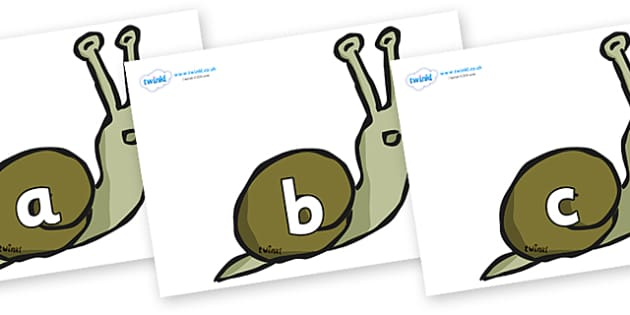 Phase 2 Phonemes on Snails - Phonemes, phoneme, Phase 2, Phase two, Foundation, Literacy, Letters and Sounds, DfES, display