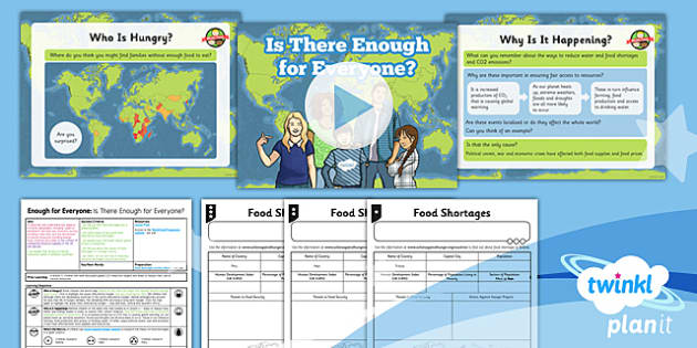PlanIt - Geography Year 5 - Enough for Everyone Lesson 6: Is There Enough? Lesson Pack - geography, global, power, resources, energy, electricity, food, South America