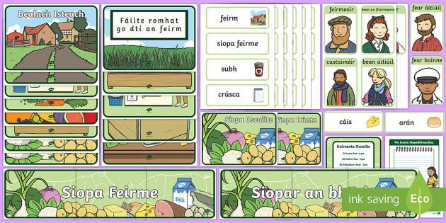 The Farm as Gaeilge Aistear Display Pack