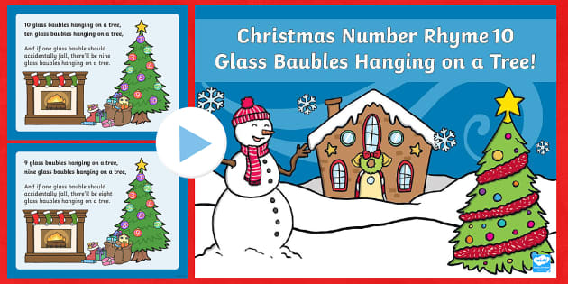 10 Glass Baubles PowerPoint