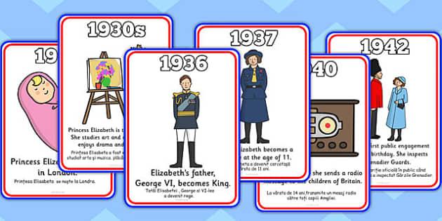 The Life of Queen Elizabeth II Romanian Translation - romanian