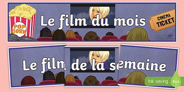 Film of the Week Month French Display Banner
