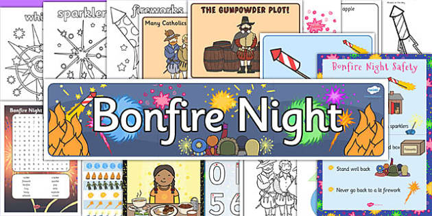Bonfire Night Resource Pack for Childminders - bonfire night, resource pack, childminders, child minders