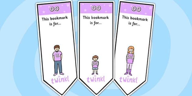 Short oo Sound Family Editable Bookmarks - oo sound family, editable bookmarks, bookmarks, editable, behaviour management, classroom management, rewards