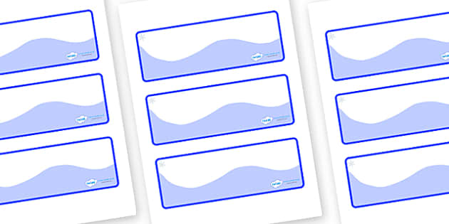 Snowflake Themed Editable Drawer-Peg-Name Labels (Colourful) - Themed Classroom Label Templates, Resource Labels, Name Labels, Editable Labels, Drawer Labels, Coat Peg Labels, Peg Label, KS1 Labels, Foundation Labels, Foundation Stage Labels, Teachin