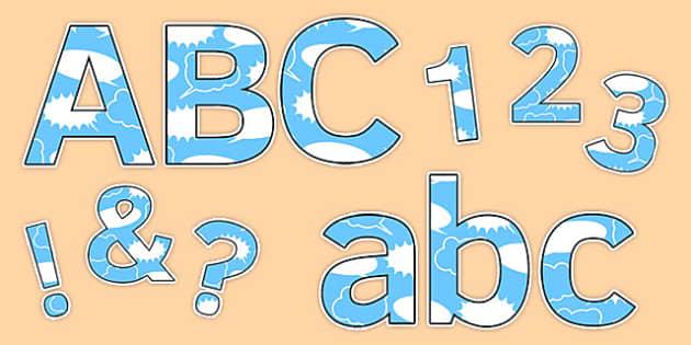 Anti-Bullying Week Display Lettering - anti-bullying week, display lettering, display