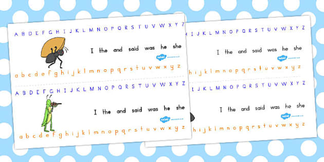 The Ant and the Grasshopper Alphabet Strips - letters, literacy