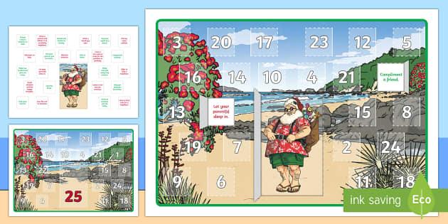 New Zealand Christmas Random Acts of Kindness  Advent