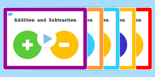 Year 3 Addition and Subtraction PowerPoints Pack Lesson 4 - pack