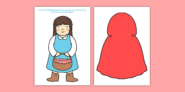 Little Red Riding Hood's Cape Activity Resource Pack - little red riding hood, cape, activity, pack