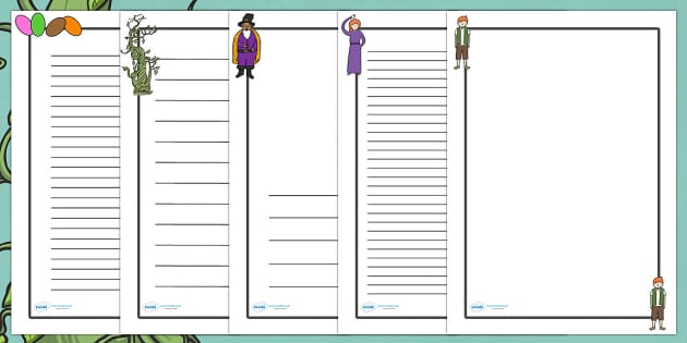 Jack and the Beanstalk Page Borders - Jack and the Beanstalk, traditional tales, page border, a4 border, template, writing aid, writing border, page template, tale, fairy tale, Jack, giant, beanstalk, beans, golden egg, axe, castle, sky